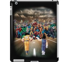 Saiyans vs Marvel's Heroes iPad Case/Skin