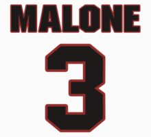 NFL Player Robert Malone three 3 by imsport