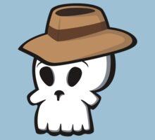 Mr. Skull Hat Baby Tee