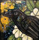 Alala (Hawaiian Crow) by Lynnette Shelley