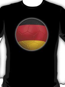Germany - German Flag - Football or Soccer 2 T-Shirt