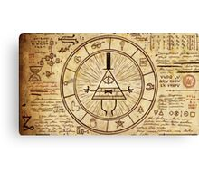 Bill Cipher Wheel Canvas Print
