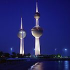 Kuwait Towers by Larry Costales