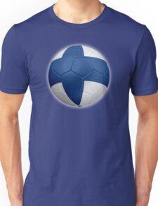 Finland - Finnish Flag - Football or Soccer 2 Unisex T-Shirt