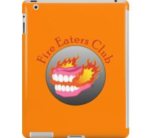 Fire Eaters Club iPad Case/Skin