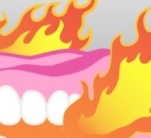 Fire Eaters Club Sticker