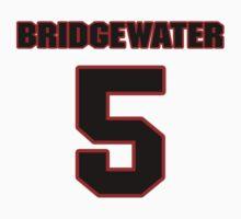 NFL Player Teddy Bridgewater five 5 by imsport