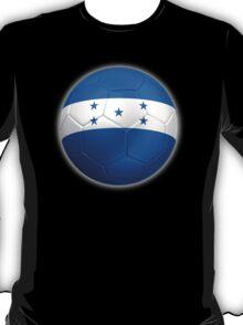 Honduras - Honduran Flag - Football or Soccer 2 T-Shirt