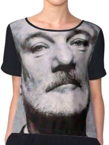 Bill Murray - Digital Painting Fan Art Chiffon Top