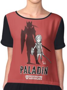 AFTER SCHOOL WARRIORS: PALADIN Chiffon Top