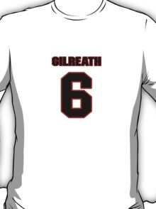 NFL Player David Gilreath six 6 T-Shirt