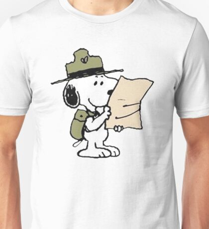 Snoopy Scout Unisex T-Shirt