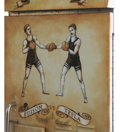 Edison and Tesla Electrical Box Sticker