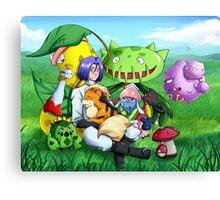 James and his Pokemon Canvas Print