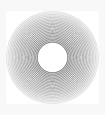 Circle blend Photographic Print