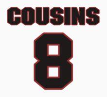 NFL Player Kirk Cousins eight 8 T-Shirt