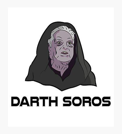 Darth Soros Photographic Print
