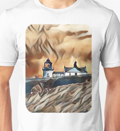 My Design of a Stormy Lighthouse Unisex T-Shirt