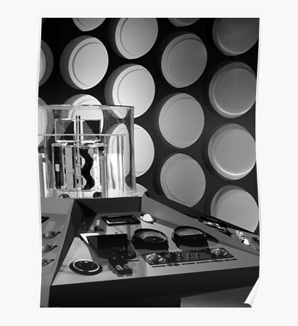 First Doctor's TARDIS Poster