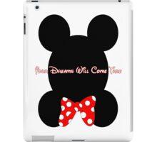 Mickey and Minnie Minimalist Design iPad Case/Skin