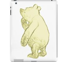 Silly Old Bear Textless iPad Case/Skin