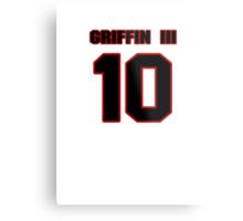NFL Player Robert Griffin III ten 10 Metal Print