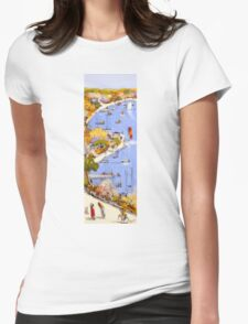 Summer Cove Womens Fitted T-Shirt