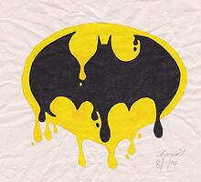 Dripping Batman Symbol by BonesToAshes