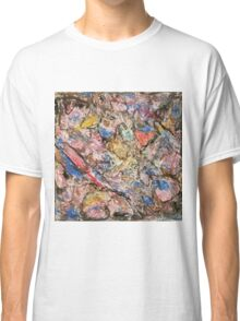 """Oil Pastel on Bathroom Tile"" Classic T-Shirt"
