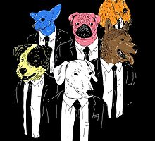 Real Reservoir Dogs by Jonah Block