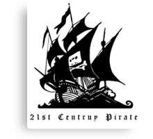 21st Century Pirate Canvas Print
