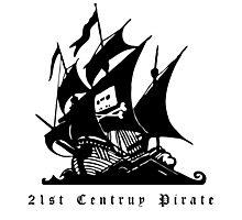 21st Century Pirate Photographic Print