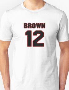 NFL Player John Brown twelve 12 T-Shirt