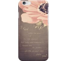 The Grass Of The Field iPhone Case/Skin