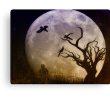Night Trio Canvas Print