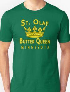 Saint Olaf Butter Queen Minnesota T-Shirt