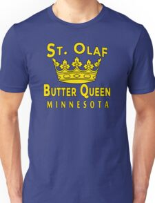 Saint Olaf Butter Queen Minnesota Unisex T-Shirt