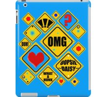 SIGNS of the TIMES iPad Case/Skin