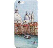 Grand Canal and Santa Maria della Salute, Venice iPhone Case/Skin