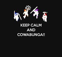 Keep Calm and Cowabunga Unisex T-Shirt