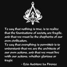 Nothing is True, Everything is Permitted (White Lettering) by KewlZidane