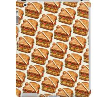 Turkey Club On White Pattern iPad Case/Skin