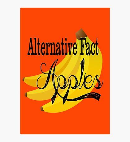Alternative Fact Apples Photographic Print