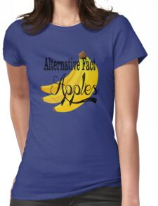 Alternative Fact Apples Womens Fitted T-Shirt