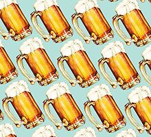Beer Pattern by Kelly  Gilleran