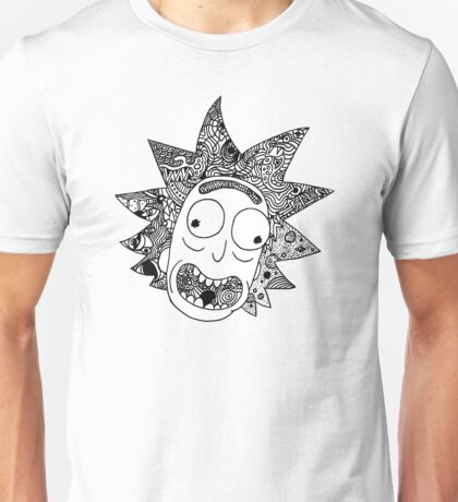 Rick (white) Unisex T-Shirt