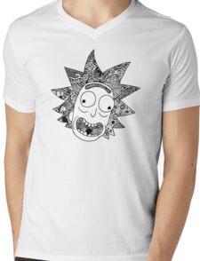 Rick (white) Mens V-Neck T-Shirt