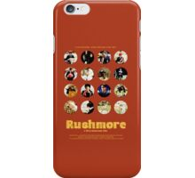 Rushmore featuring the many faces of Max Fischer iPhone Case/Skin