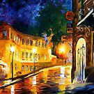 Lonely Night — Buy Now Link - www.etsy.com/listing/210099117 by Leonid  Afremov