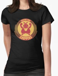 Dewford Town Choppers Womens Fitted T-Shirt
